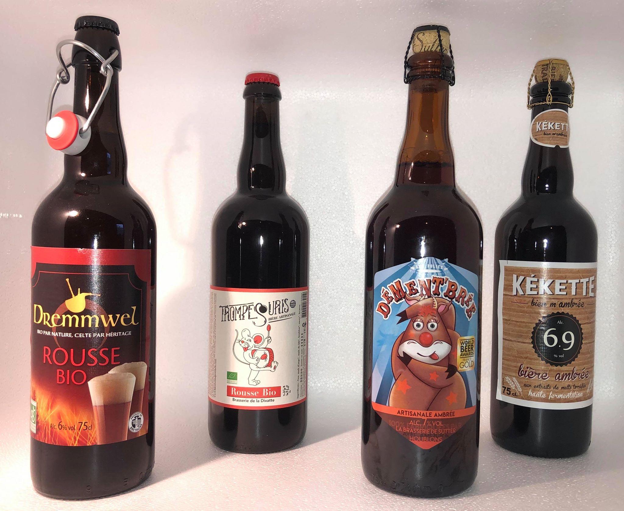 Bières Ambrés 75cl