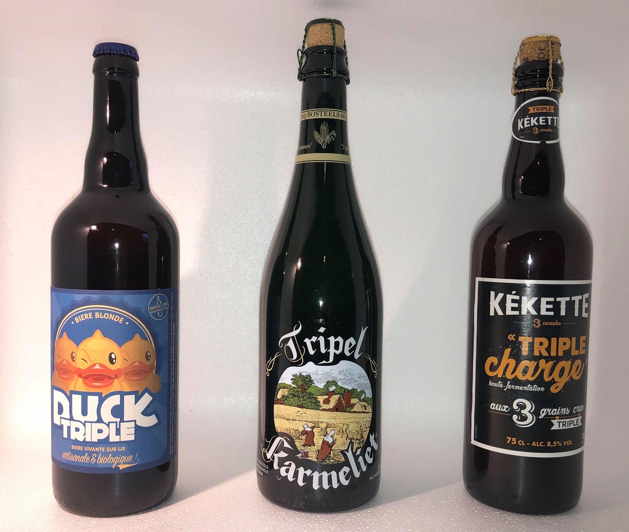 Bières Triples 75cl